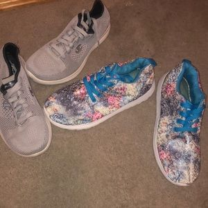 Set of Gently Used Sneakers